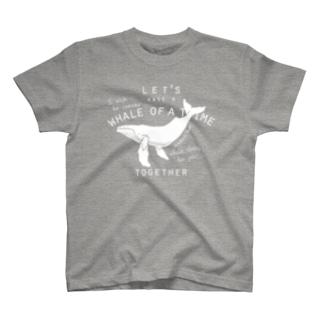 ザトウクジラ T-shirts