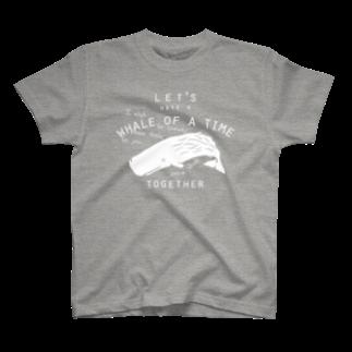 クジラのマグカップ屋さん。プラスのマッコウクジラ Tシャツ