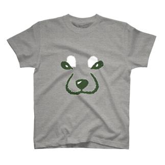 デカ柴顔 T-shirts