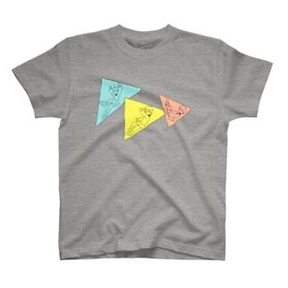 三角Tシャツ T-shirts