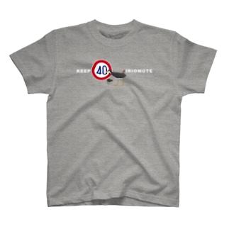 KEEP40 IRIOMOTE シロハラクイナ(横) T-shirts