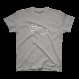 SHANのWHITE SHAN T-shirts