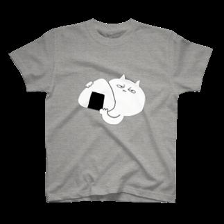 しろくまぱんだのおにぎり with ネコ T-shirts