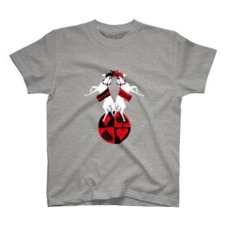 道化のお馬 T-shirts