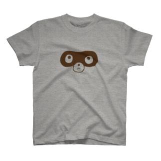 ぽんぽこファクトリーのアライグマ T-shirts
