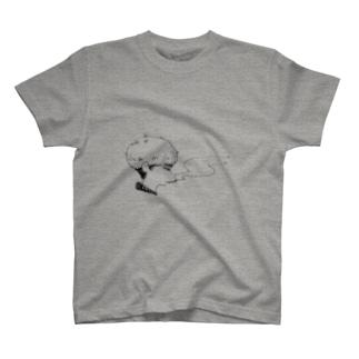 ぷかぷか男 T-shirts