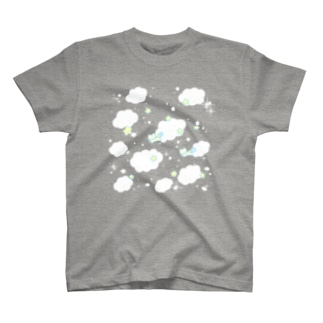 ようなぴしょっぴんぐまーとのにこにこお空 T-shirts