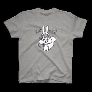 FOXY-EYEのうさぎモドキ~耳外れる T-shirts