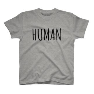 ヒューマンT T-shirts