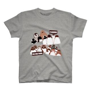 PENGUINS THE BIG FOUR LIVE! T-shirts