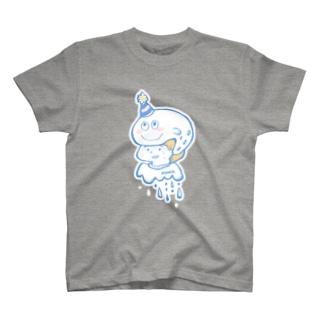 頭の上に得体の知れない生物が乗っかっていた場合 T-shirts