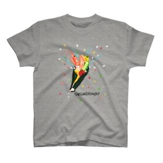 手巻き寿司クラッカー T-shirts