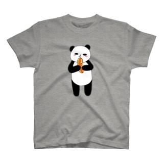 ぱんだがパンだ T-shirts