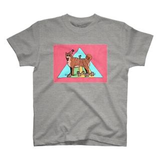 しばいぬ Tシャツ