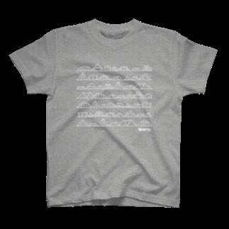 メガネのT09 The CAMP TRIBES T-shirts