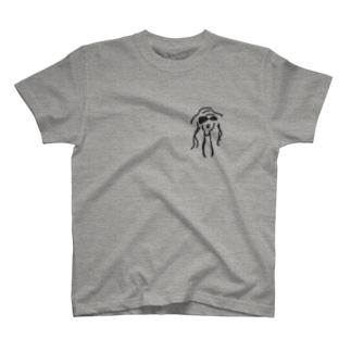 おんなのこ モアさん T-shirts