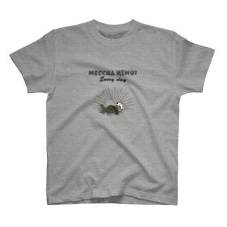 MECCHA NEMUI らっこ T-shirts