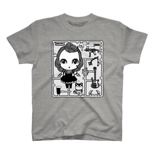 DARK DOLL-プラモデルバージョン T-shirts