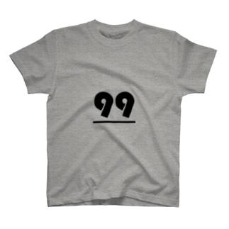 99(キューキュー).pptx design T-shirts