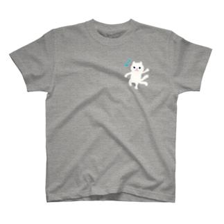 おばけTシャツ<白猫又> T-Shirt