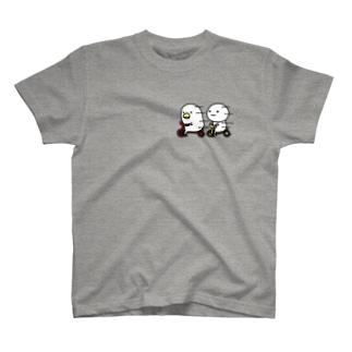 トリとまるいのTシャツ T-shirts