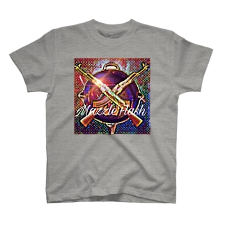 マズフラのアレ クロスAKM T-shirts