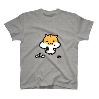 もぐもぐハムスターくん T-shirts