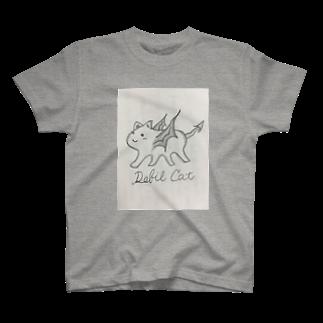 なるみʚ❤ɞのDebil  Cat T-shirts