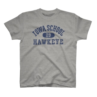 アイオワ・カレッジ&ナンバー T-shirts