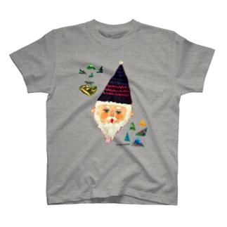 サンカクじいさん T-shirts