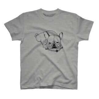 おしゃれブルドッグ T-shirts