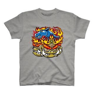 ほとけもの 馬頭観音菩薩 T-shirts