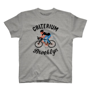 ブルックリン★自転車レース T-shirts