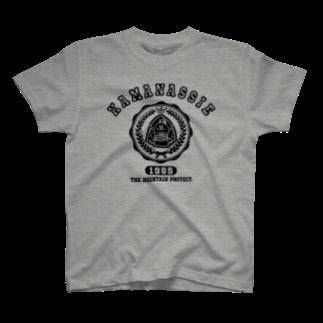 モリヤマ・サルのエンブレム T-shirts
