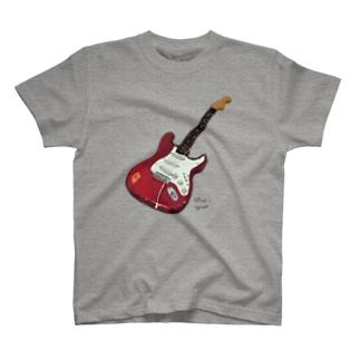 ストラトTシャツ T-shirts