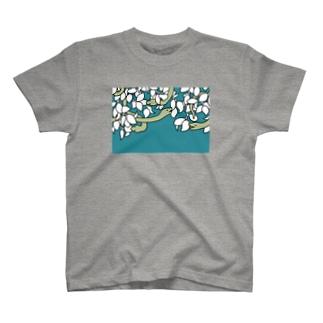 夢の蛇(青空) T-shirts