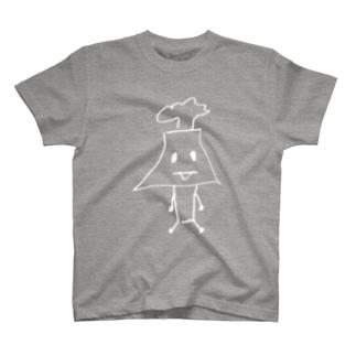 白色さくらじまさん T-shirts