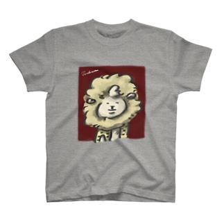 マトンの肖像(カラー) T-shirts