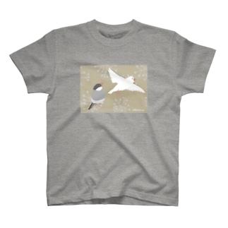 ぶんちょう 屏風風 T-shirts