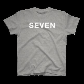 イイヅカアキラのSEVEN T-shirts