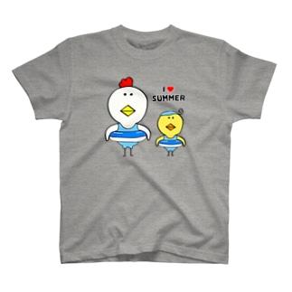 I♡SUMMER T-shirts