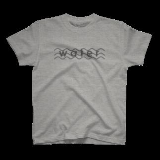 morningのwater T-shirts