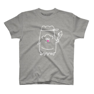 ゆうしゃ(濃色用) Tシャツ