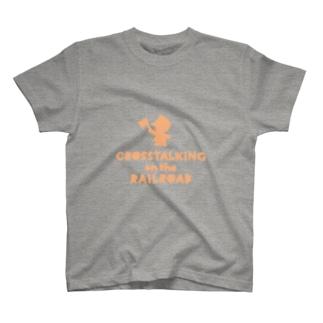 CROSSTALKING on the RAILROAD T-shirts