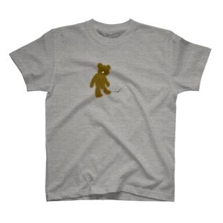 ZOZI SHOPのたそかれテディベア T-shirts