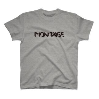 montage(モンタージュ) T-shirts