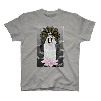 マリア観音 T-shirts