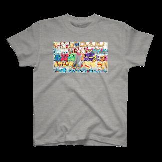 Geotopiaの此処は何処~(>_<)? T-shirts