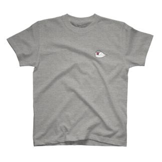 ねぶん(シルバー) T-shirts