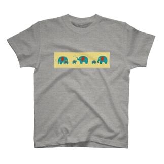 ぞうさん_レトロ T-shirts
